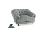 Bagsie Love Seat in French blue brushed cotton