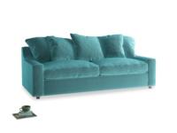Large Cloud Sofa in Belize clever velvet