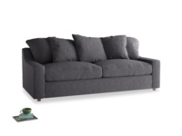 Large Cloud Sofa in Lead cotton mix