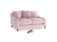 Small Oscar Sofa in Pale Rose vintage linen