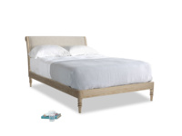Double Darcy Bed in Birch wool
