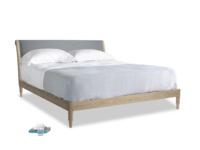 Superking Darcy Bed in Dusk vintage linen