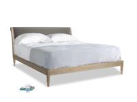 Superking Darcy Bed in Slate clever velvet