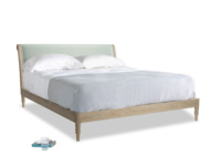 Superking Darcy Bed in Mint clever velvet