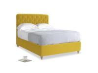 Double Billow Bed in Bumblebee clever velvet