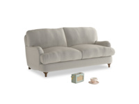 Small Jonesy Sofa in Smoky Grey clever velvet