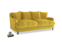 Medium Achilles Sofa in Bumblebee clever velvet