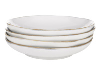 Wobbler kitchen white ceramics pasta bowls