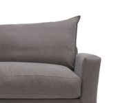Contemporary and modern luxury British made Pavilion L shaped comfy sofa