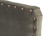 French style Smith upholstered headboard with studding detail