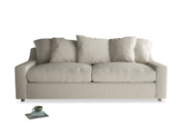 Deep seated super comfortable luxury Cloud sofa handmade in Britain