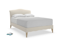 Frenchie upholstered luxury French style bed handmade in Britain