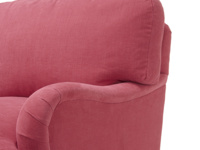 British made luxury comfy Jonesy deep armchair