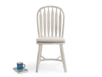 Vintage dining Bossy chair in a lovely scuffed white