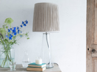 Shardy contemporary glass table lamp