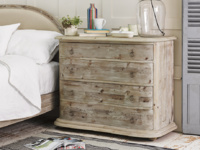 Aurelie Bedroom chest of drawers in reclaimed French style