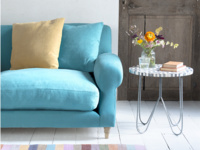 Crumpet snuggler sofa and handmade comfy love seat