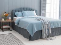 Soft beautiful handmade bed valance