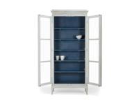 Glass door Flummery storage cabinet