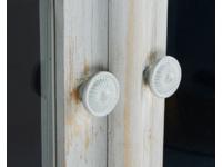 Flummery glass door wooden dresser