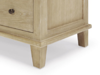 Vintage French style solid oak Legacy bedroom chest of drawers