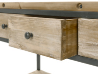Vintage wooden hall Hector console table