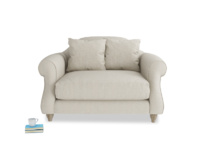 Sloucher traditional hand made classic Sloucher love seat