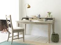 Rudyard reclaimed hand made wooden home office desk