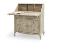 Beautiful British made vintage Quill bureau and reclaimed writing desk