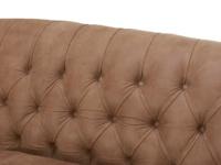 Butterbump button back chesterfield armchair