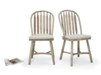 British handmade beautiful vintage dining Bossy Beached chairs