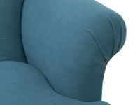 Soufflè contemporary authentic beautfiful comfy British made luxury armchair