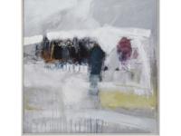 Ben Lowe's Houses & Factories framed art print canvas