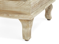 Handmade french style Bastille reclaimed bedside table