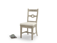 Stunning reclaimed Chinwag Beached dining chair in beached timber