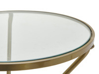 Tria modern and contemporary round side table