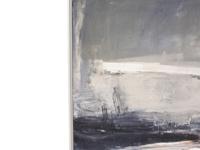 Ben Lowe's framed Look Left art canvas print