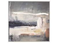 Ben Lowe's Look Left canvas framed art print