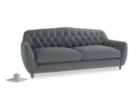 Large Butterbump Sofa in Dusk vintage linen