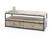 Wooden industrial reclaimed Hercule TV stand