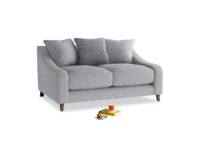 Small Oscar Sofa in Storm cotton mix