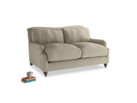 Small Pavlova Sofa in Jute vintage linen