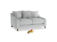 Small Oscar Sofa in Pebble vintage linen