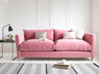 British made modern and comfy luxury Flopster sofa
