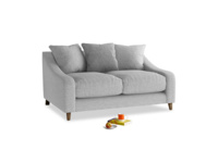 Small Oscar Sofa in Mist cotton mix