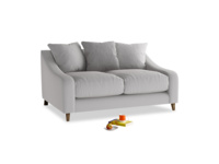 Small Oscar Sofa in Flint brushed cotton