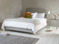 Modern Dazzler contemporary upholstered bed