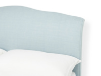 Upholstered contemporary Frenchie French bed