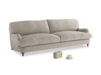 Large Jonesy Sofa in Birch wool