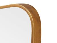 Floor standing antique style retro full length vintage Top Brass mirror